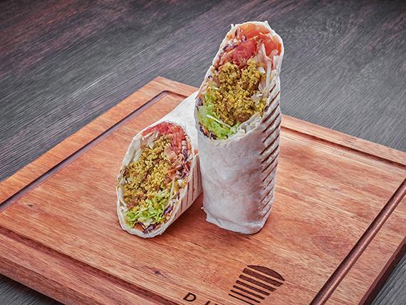 Shawarma XL vegetariano de falafel (500 g)