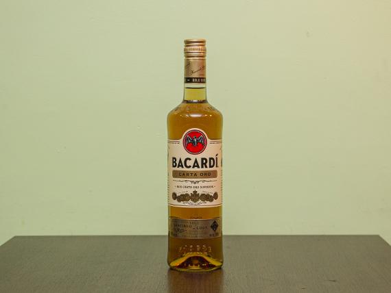 Ron Bacardi gold 750 ml