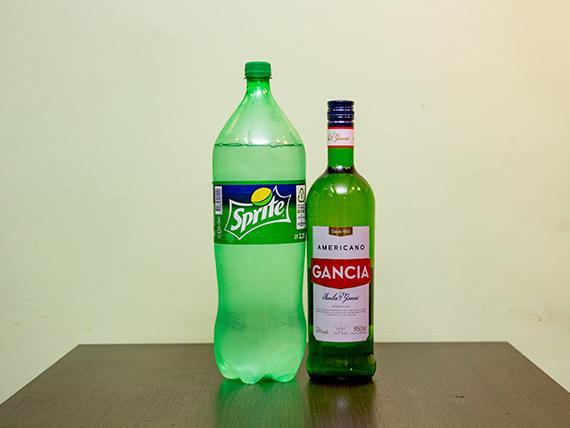 Promo 27 - Gancia 1 L + 1 gaseosas Sprite 2.25 L