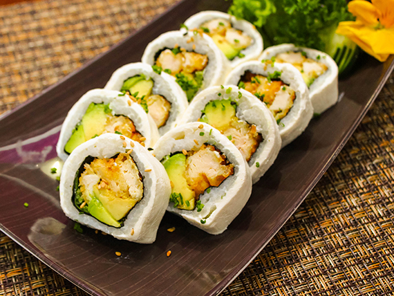 061 - Katsu white roll (9 piezas)