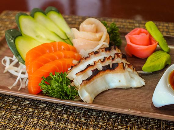 108 - Sashimi de pulpo