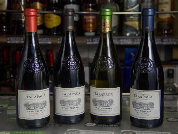 Vino Gran Reserva Tarapaca 750 ml