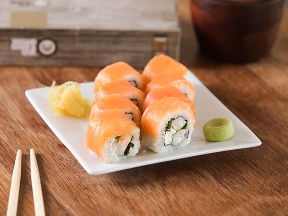 Roll especial wasabi (8 unidades)