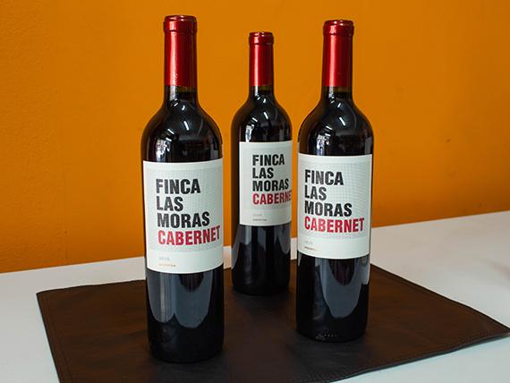 Combo 44 - Tres vinos tinto Finca Las Moras malbec 750 ml