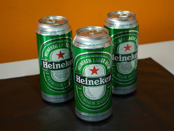 Combo 25 - 3 cervezas Heineken  1 L