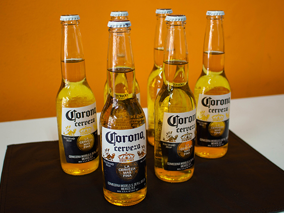 Combo - 6 cervezas Corona porron 355 ml