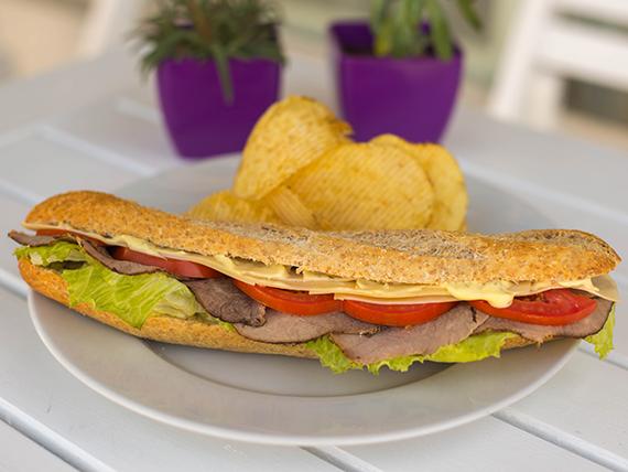 Sándwich pecetito (frío)