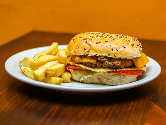 Karma burger simple