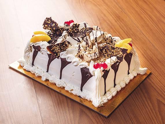 Torta manjar de durazno