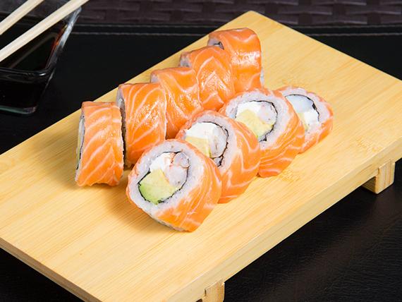 10 - Ebi sake roll (8 piezas)