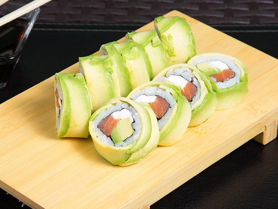22 - Avocado sake roll (8 piezas)