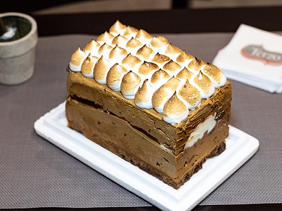 Barra brownie (7 porciones)