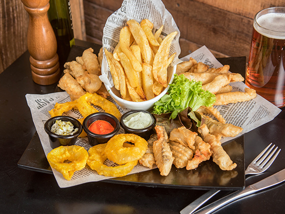 Tabla Fish And Chips (3 personas)