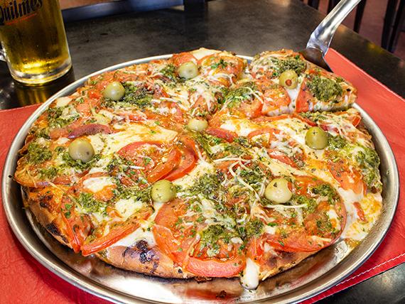 Pizza muzzarella a la napolitana