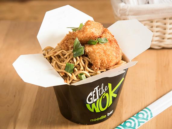 Promoción - Panko wok pollo + bebida 250 ml