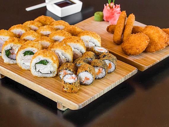 Combinado - Tabla tempura (30 piezas)