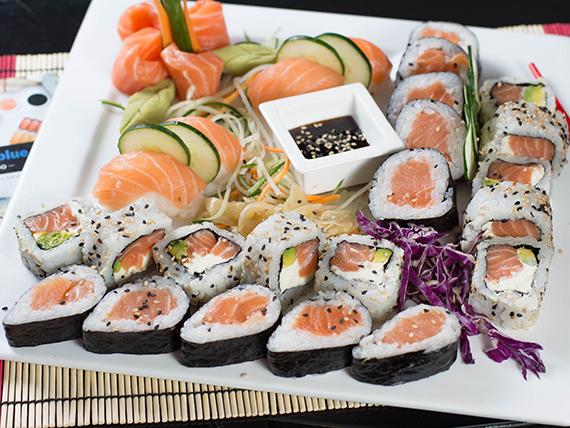 Tabla de salmón - 30 piezas