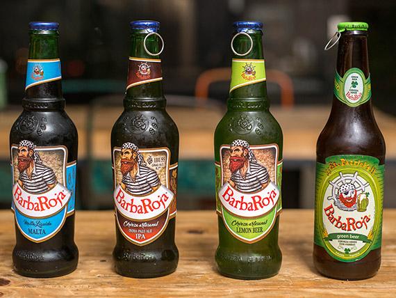 Combo 4 - Cerveza Artesanal Barba Roja