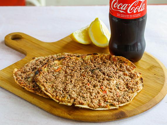 Promo - 2 lehmenyún + ramoncito + Coca cola 600 ml