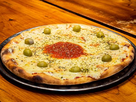 Pizza clásica mozzarella grande