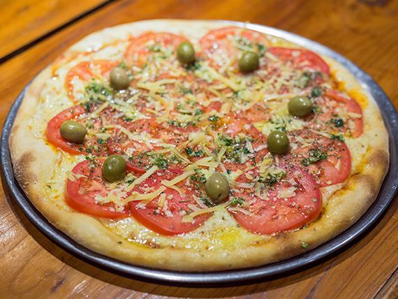 Pizza clásica napolitana grande