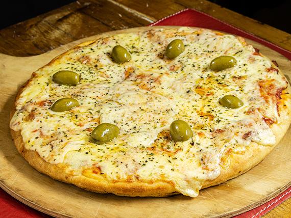 Promo 1 - Pizza muzzarella grande + gaseosa 1.25 L
