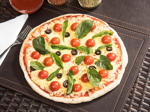 Pizza rúcula mediana