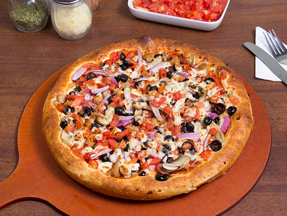 Pizza super suprema mediana