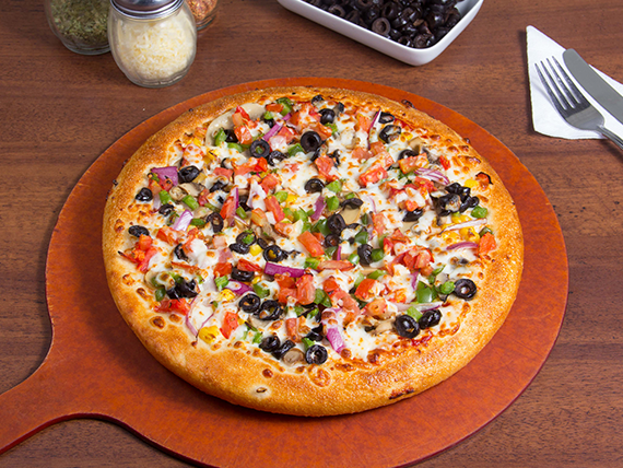 Pizza veggie lovers mediana