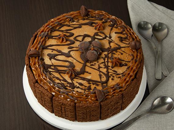 Torta helada de bonobon y chocolate (12 porciones)