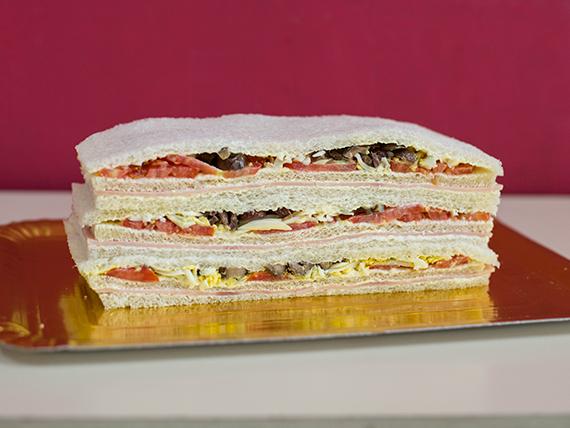 Sándwiches de jamón cocido (12 unidades)