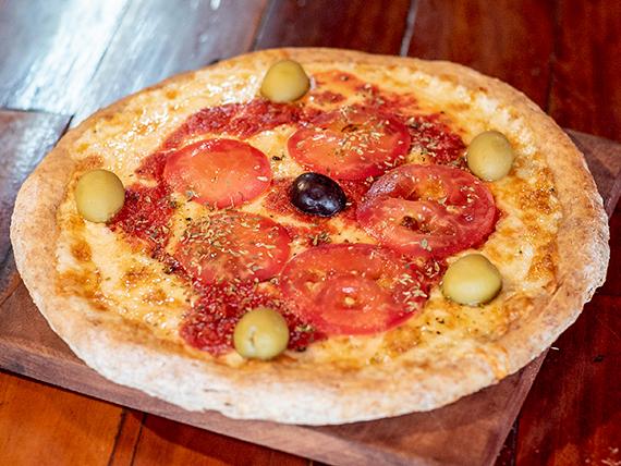 Pizza napolitana (masa integral)