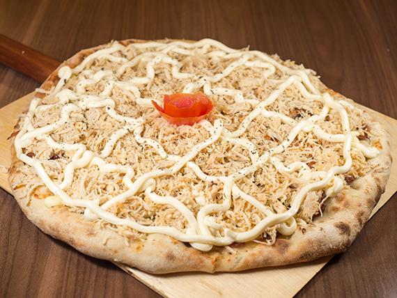 22 - Pizza frango com catupiry