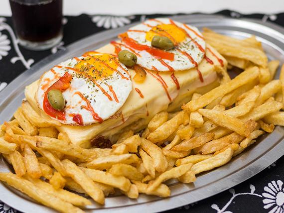 Sándwich mexicano