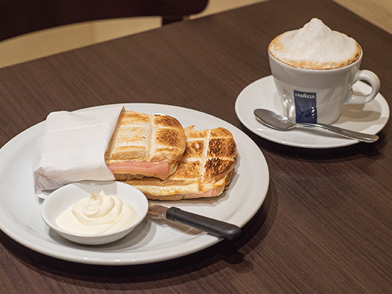 Desayuno o merienda - Doppio