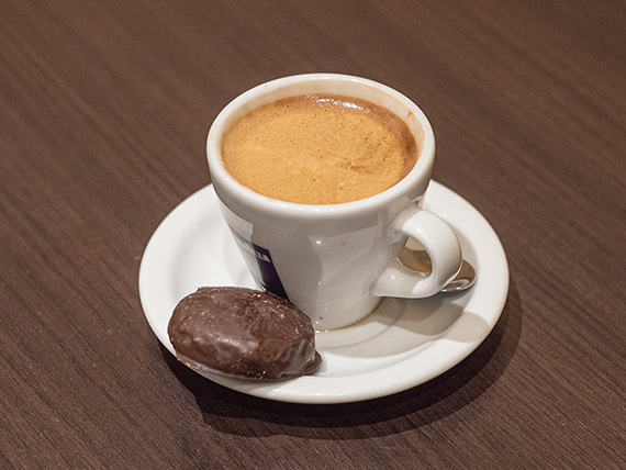 Café espresso descafeinato