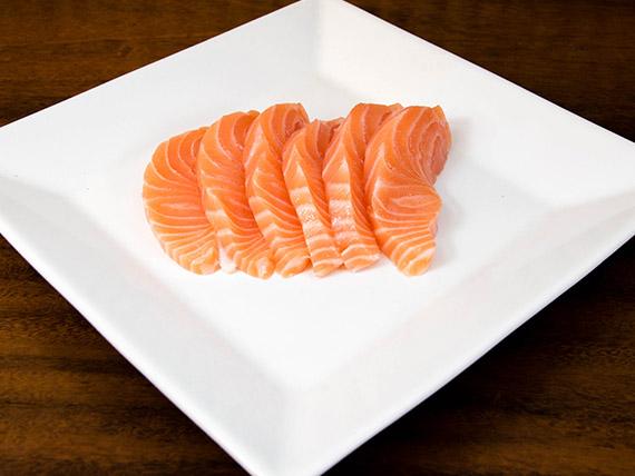 20 - Sashimi de salmão