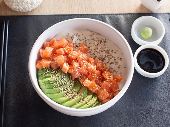 Sushi salad classic