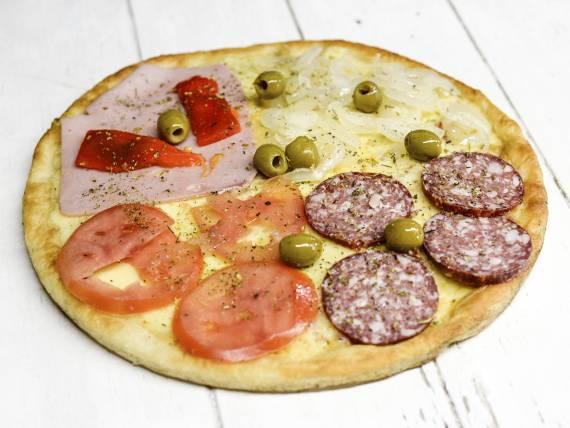 Pizza 4 colores