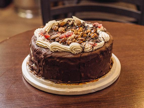 Torta helada con almendras (12 porciones)