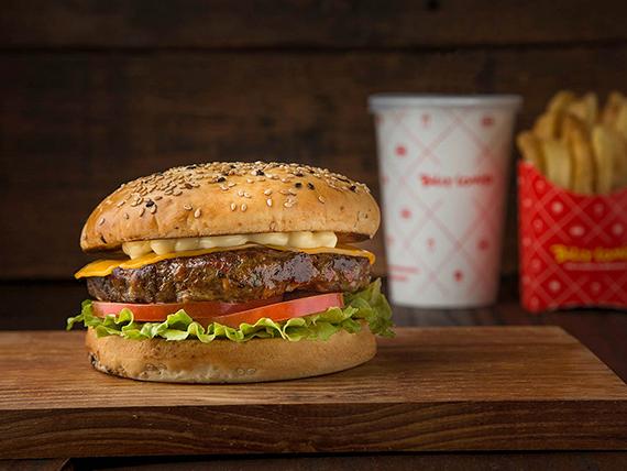 Pack hamburguesa casera clásica