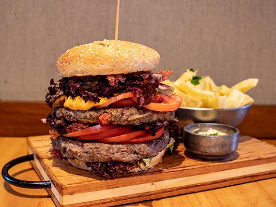 Magic double burger