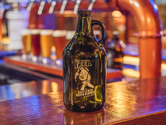 Cerveza artesanal 1.9 L