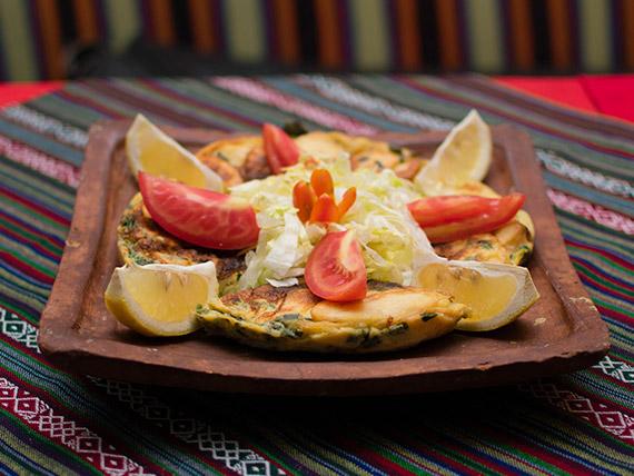 Tortilla española (para 2 personas)