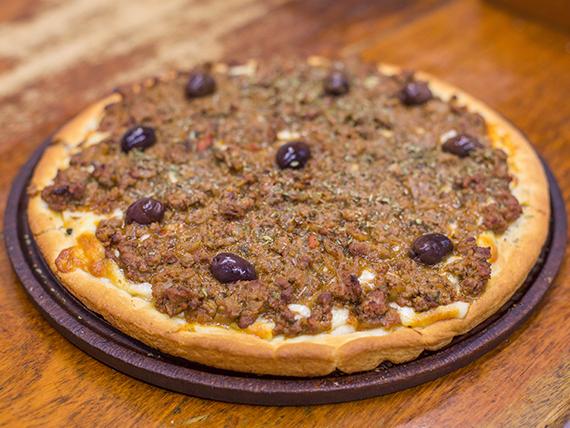 Pizza de carne grande