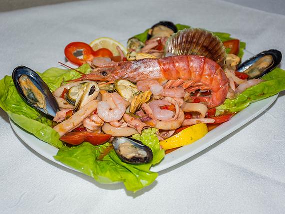 Salpicón de frutos de mar