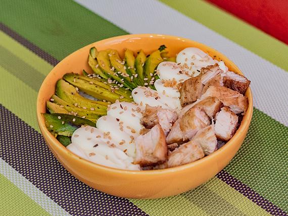 Salads chicken-teri
