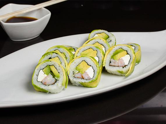 13 - Avocado ebi roll (8 piezas)