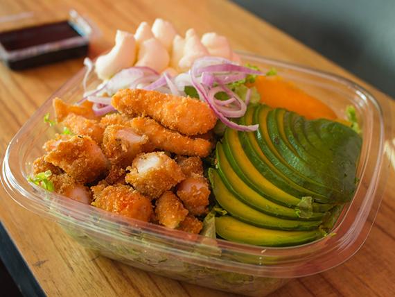 Sushi salad crispy