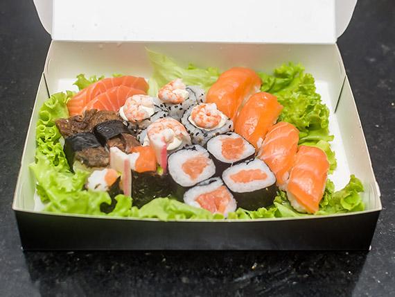 Combinado misaki (18 peças)